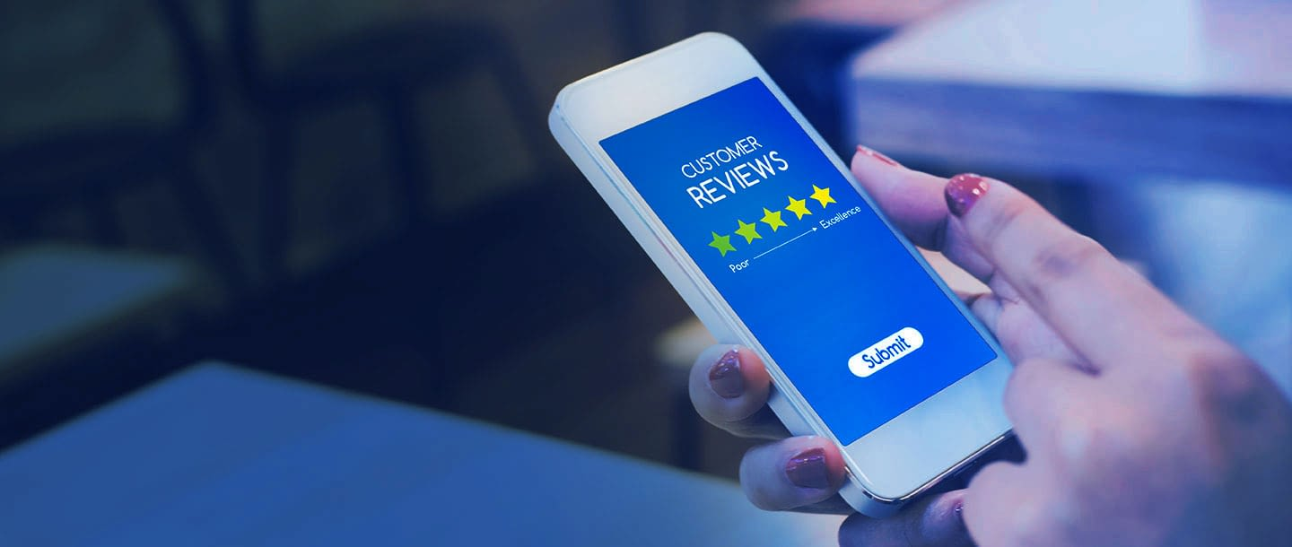 website customer reviews
