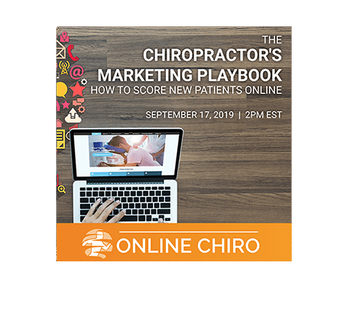 the chiropractors marketing playbook