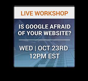 is google afraid of your website?