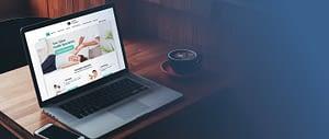 Website Template Example